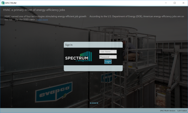 Installing and Logging into Spectrum